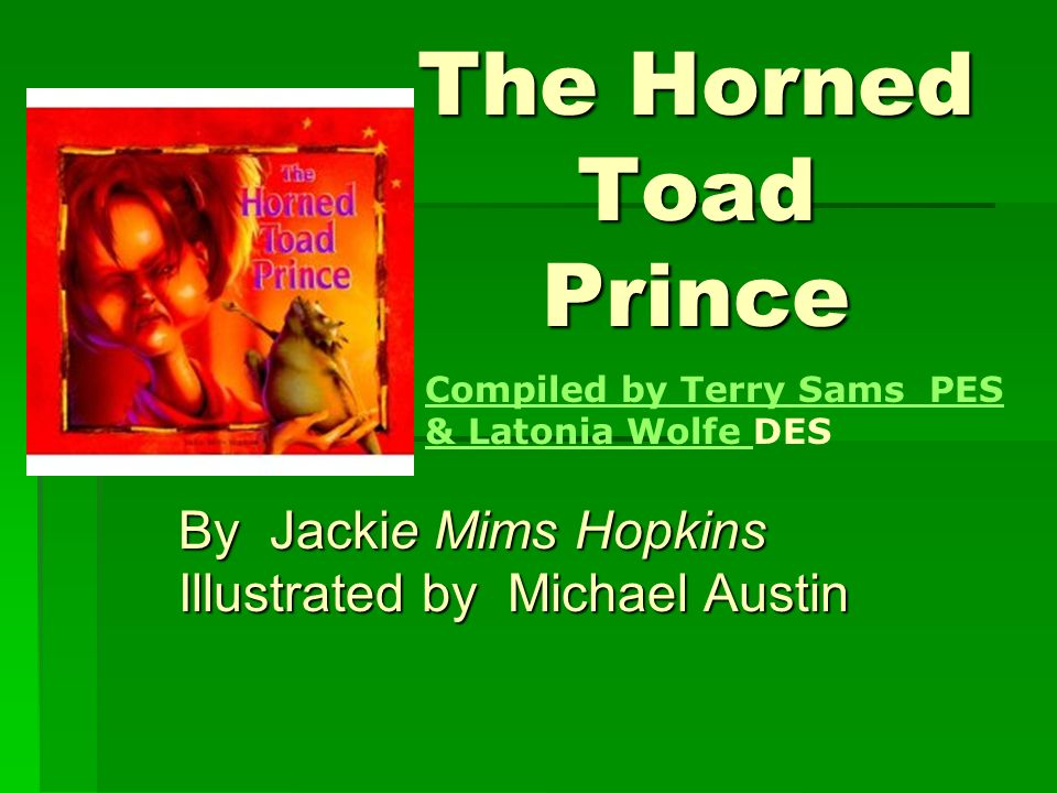 By Jackie Mims Hopkins Illustrated by Michael Austin
