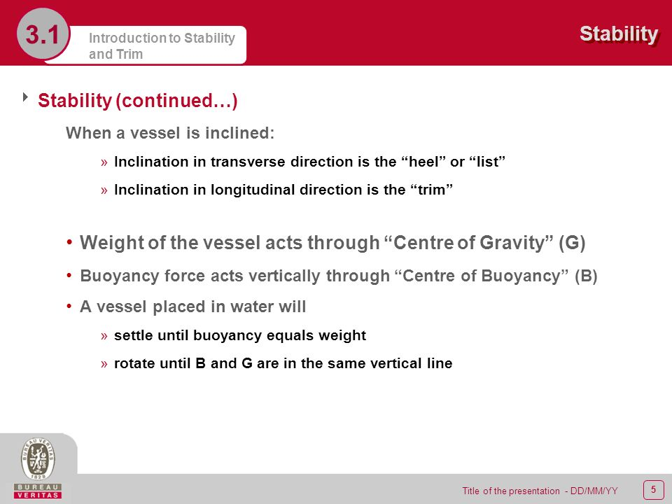 SUMMARY Stability and Trim  - ppt video online download