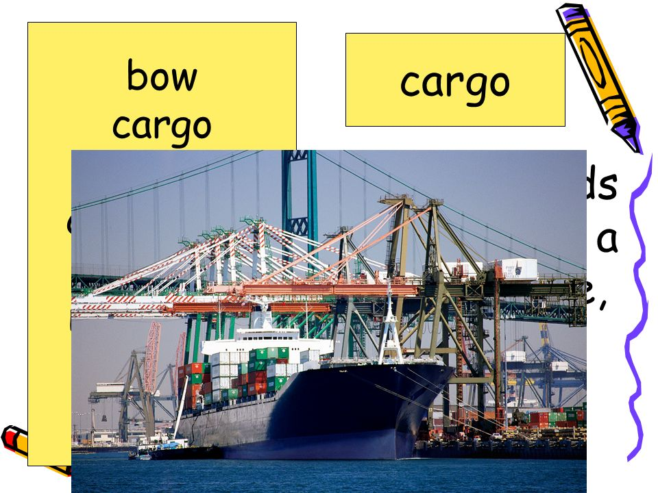 load of goods carried by a ship, plane, or truck