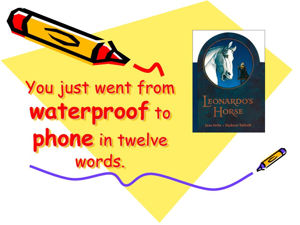 You just went from waterproof to phone in twelve words.