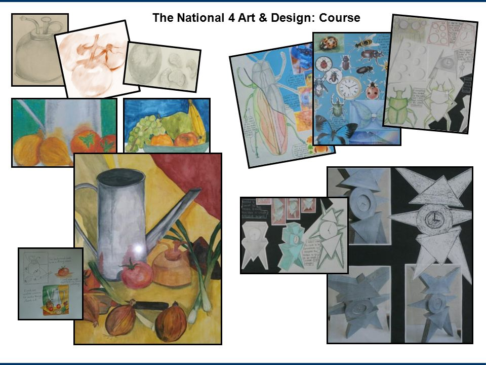 The National 4 Art & Design: Course