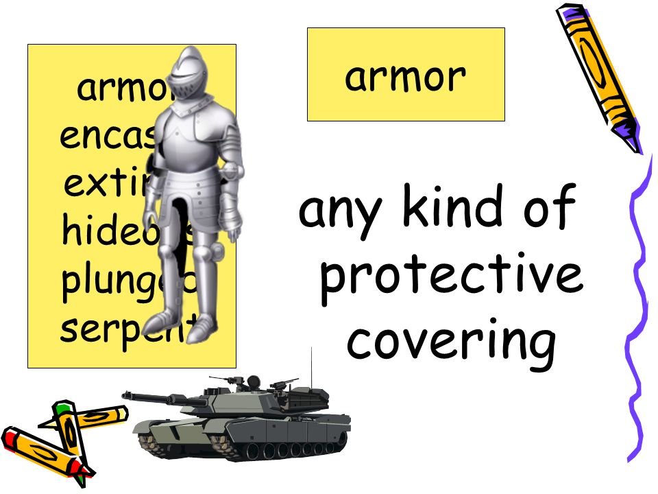 any kind of protective covering