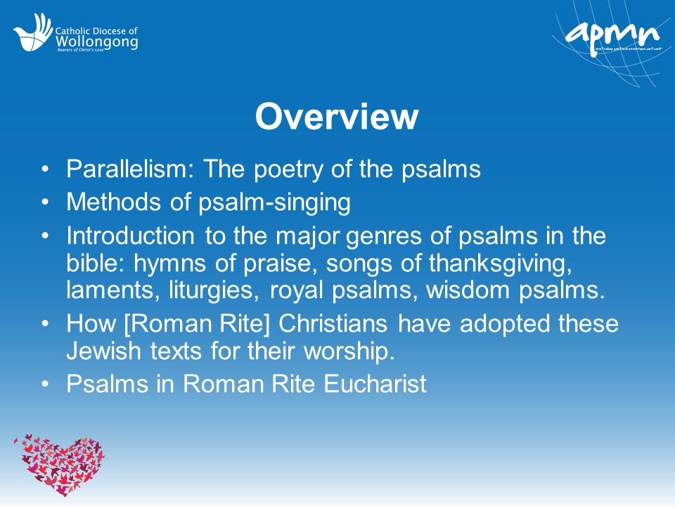 Psalms in Christian Worship - ppt video online download