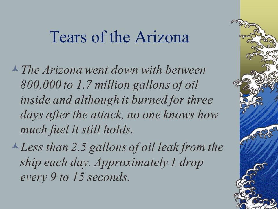Tears of the Arizona