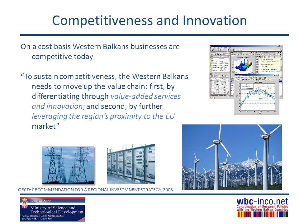 Competitiveness and Innovation
