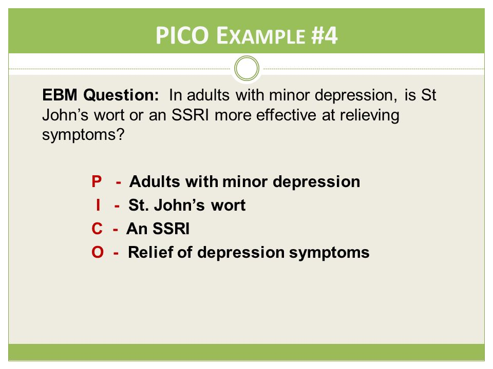 diabetes pico question examples