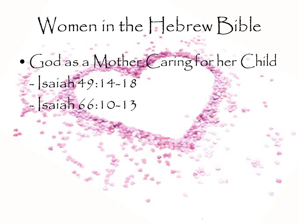 Women in the Hebrew Bible