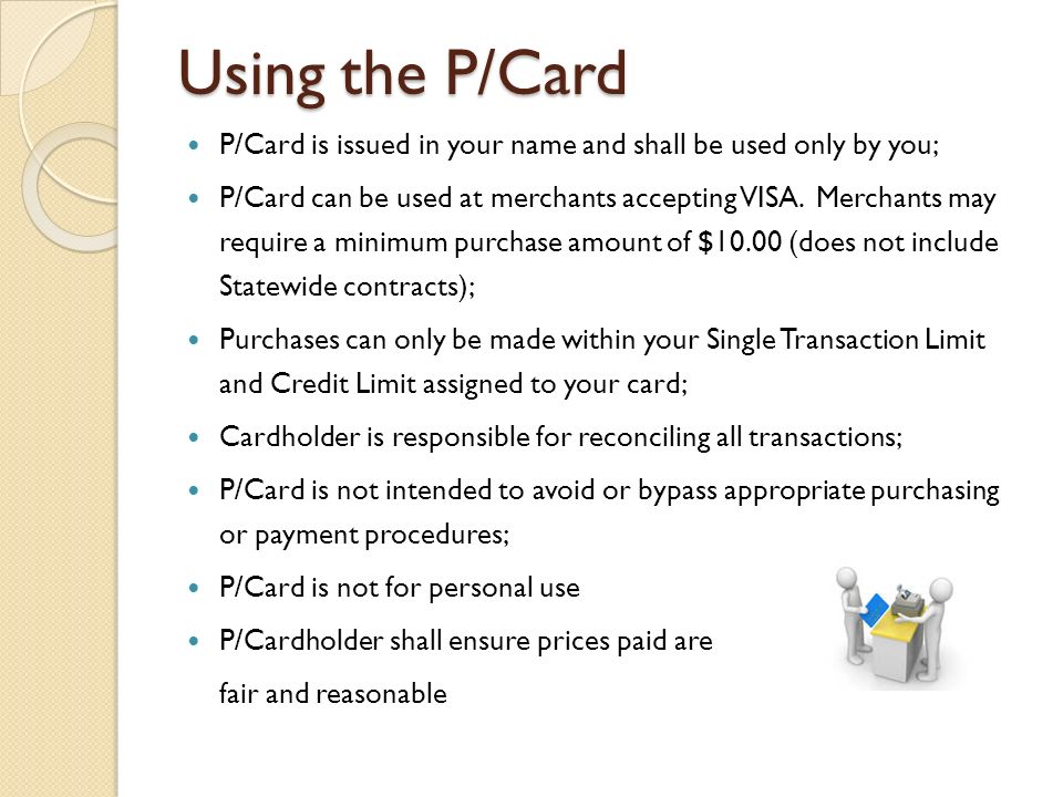 State Of Oklahoma Purchase Card Procedures Effective December 14