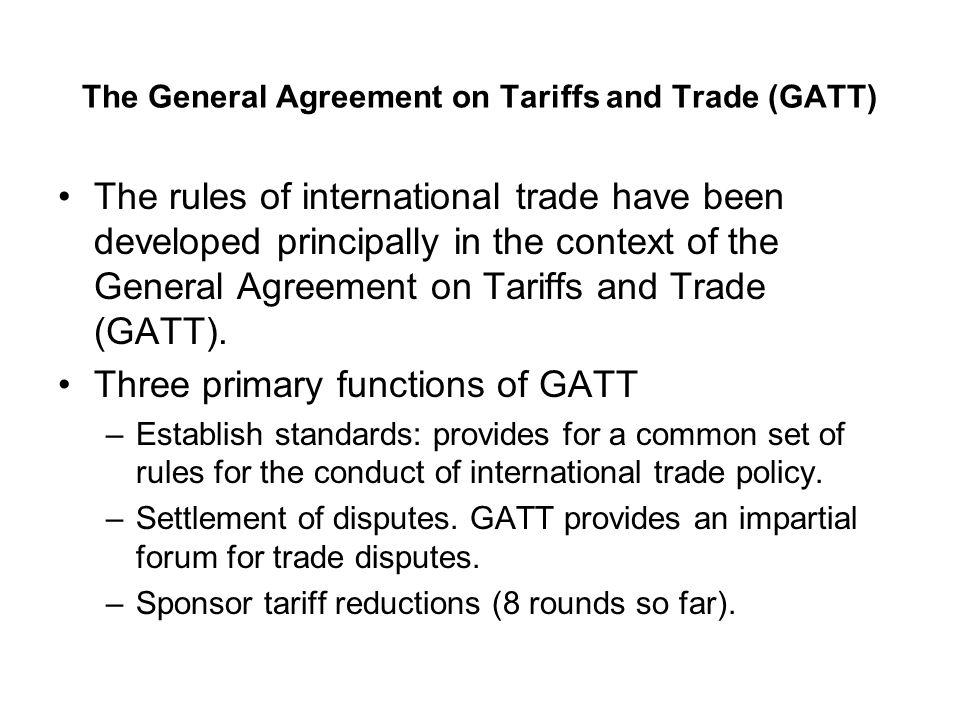 The Regulation Of International Trade Ppt Video Online Download