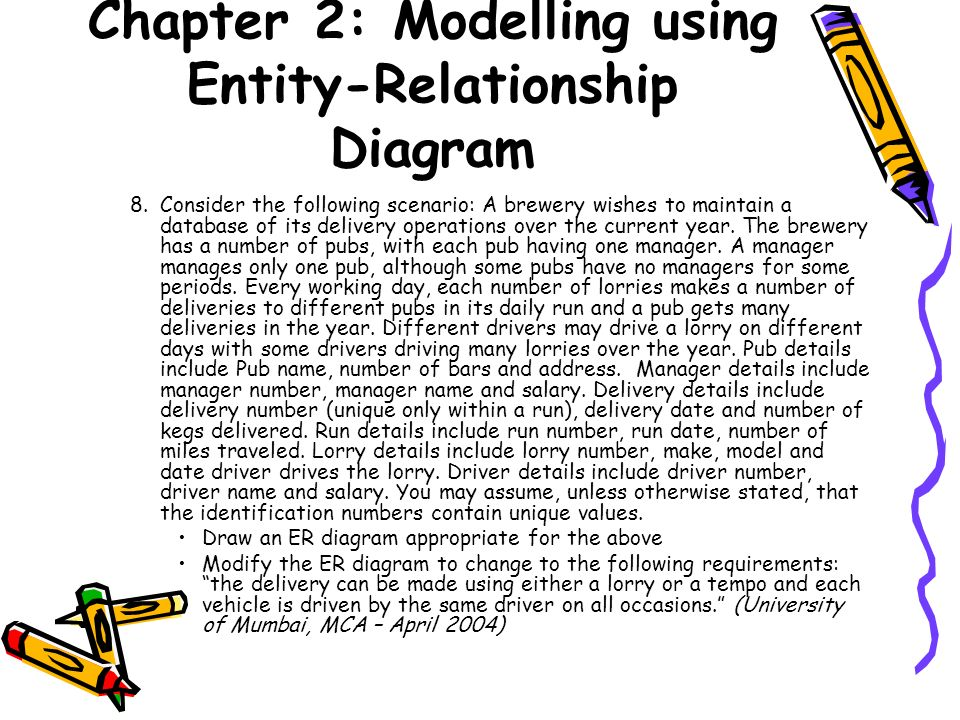 Chapter 2 modelling using entity relationship diagram ppt download chapter 2 modelling using entity relationship diagram ccuart Images