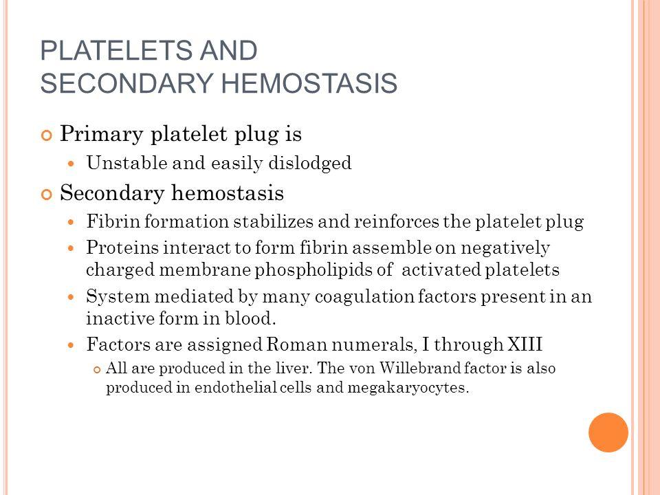 Ppt hemostasis powerpoint presentation id:146818.