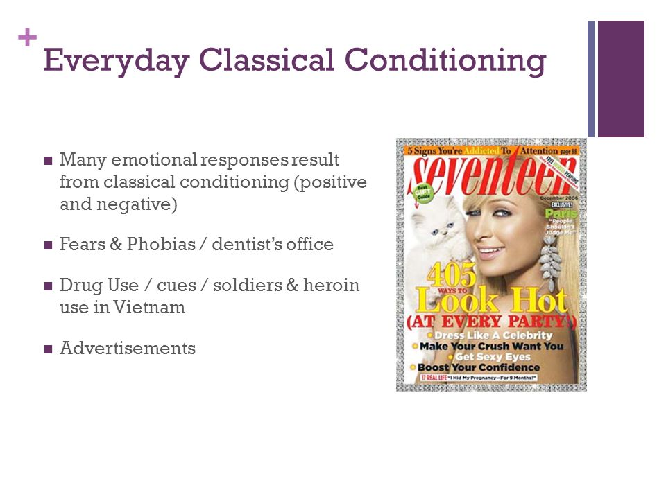 ads that use classical conditioning