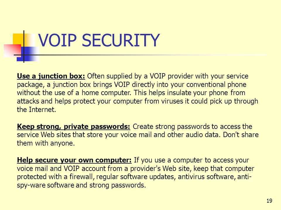 VOICE OVER INTERNET PROTOCOL (VOIP) - ppt download