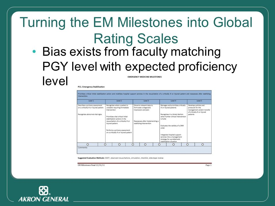 End of Shift Milestone Evaluation Forms - ppt video online