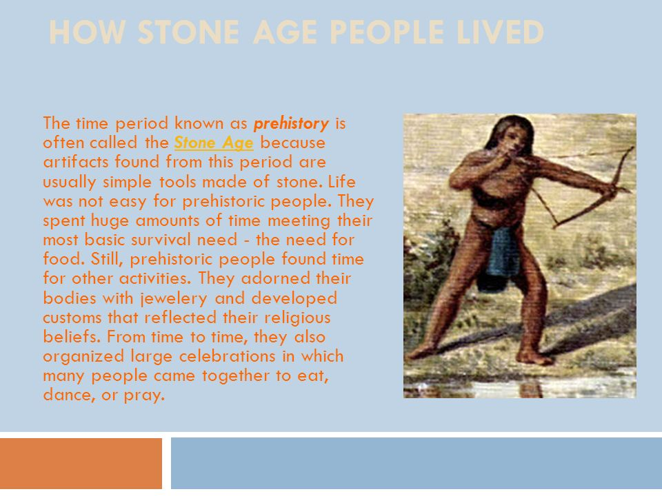 How Stone Age People Lived