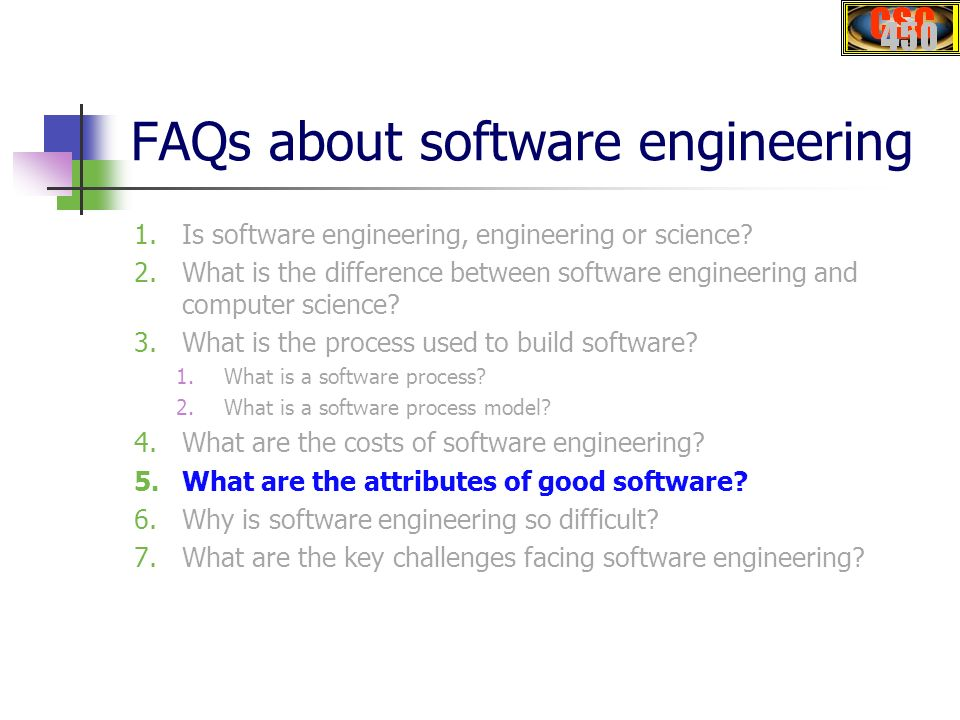 CSC450 Software Engineering - ppt download