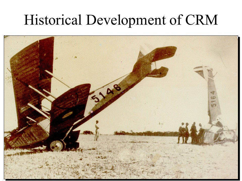 Historical Development of CRM