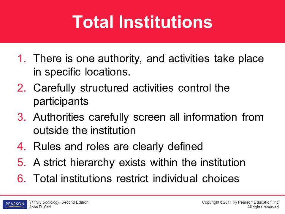 total institution definition