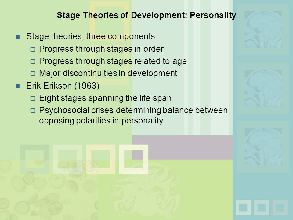 theories of development 4 essay Cognitive development theory essay - a cognitive development theory in a general sense the theory of cognitive development is not just a single theory but a number of theories offered by a number of cognitive psychologists over the past century in summary though, cognitive development is the processes by which learning is developed by the.