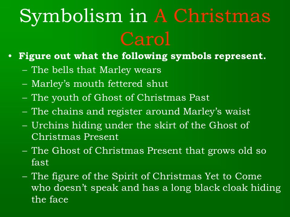 Literary Elements In A Christmas Carol Ppt Video Online Download