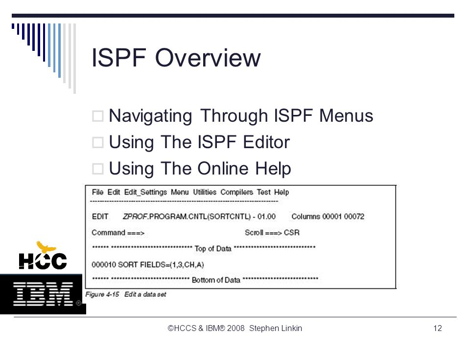 TSO/E, ISPF, And UNIX: Interactive Facilities Of z/OS - ppt download