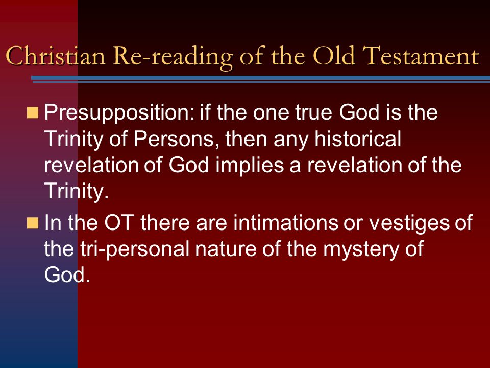 New Testament Basis for the Trinitarian Doctrine II - ppt