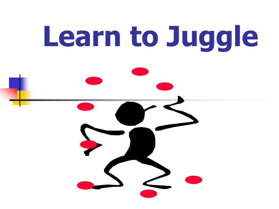 Learn to Juggle