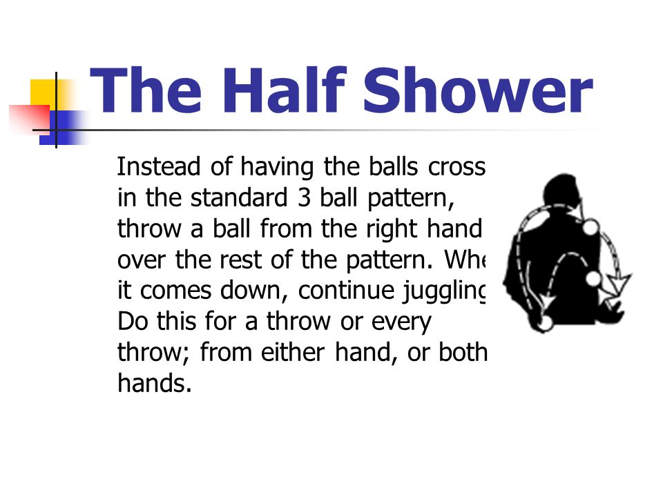 The Half Shower
