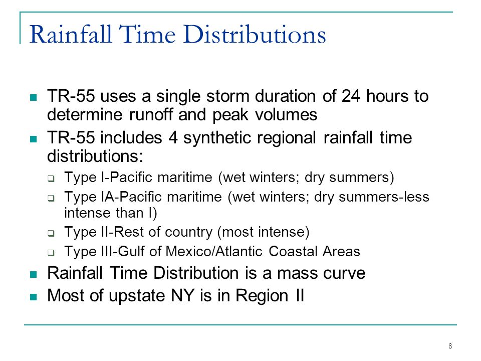 TR-55 Urban Hydrology for Small Watersheds - ppt download