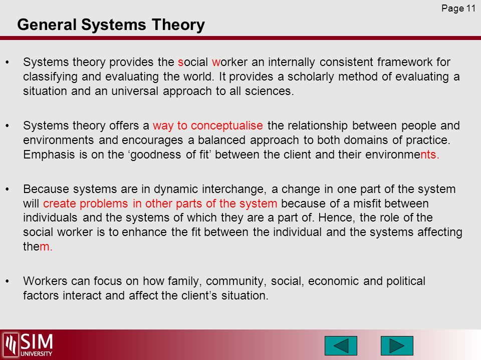 client system in social work