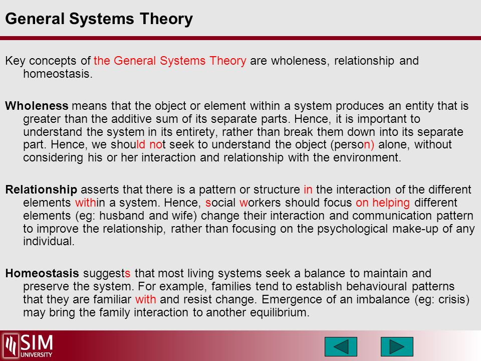 family systems theory social work