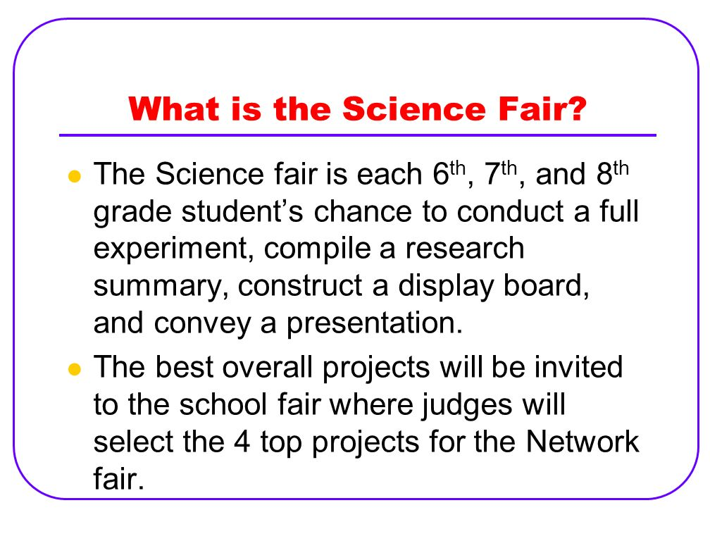 What is the Science Fair