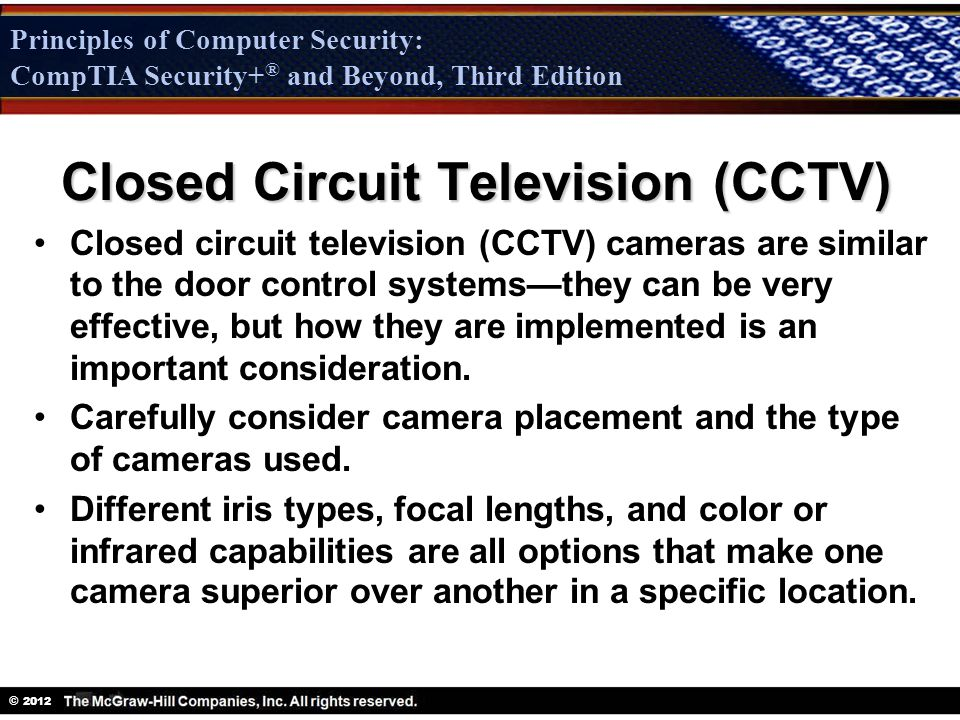 Physical Security Chapter ppt download