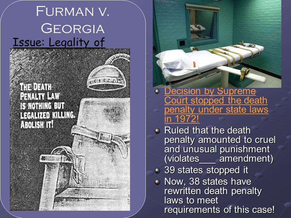 furman vs georgia case summary