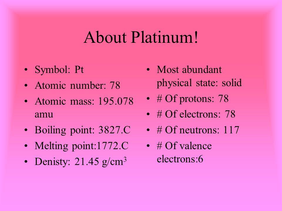Platinum By Maghen Warren Ppt Video Online Download