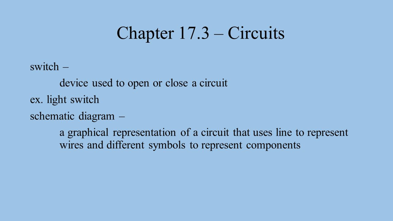 Chapter 173 Circuits Electric Circuit A Set Of Electrical 3 Light Wire Schematic 2