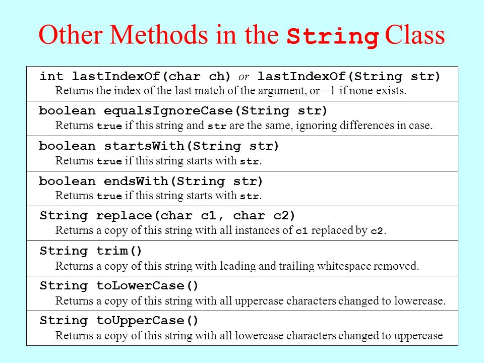Chapter 8—Strings and Characters - ppt download