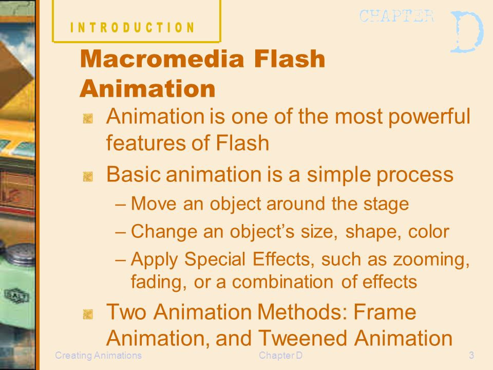 FLASH LESSON 2: MOTION TWEEN EFFECTS MOTION GUIDE TEXT