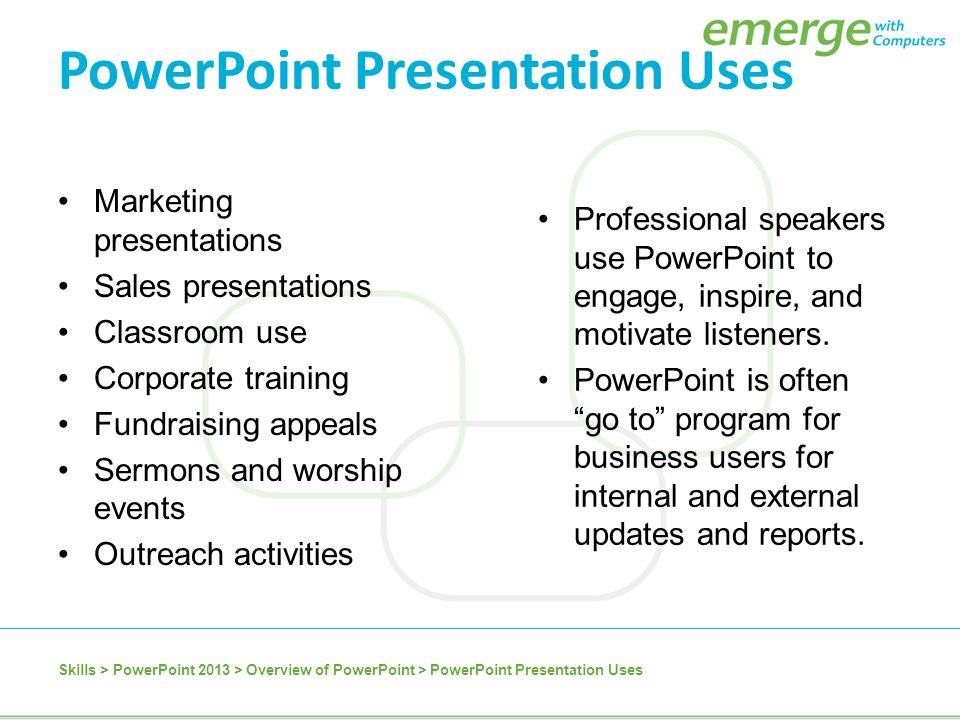 Effective use of powerpoint ucf faculty center for teaching and.