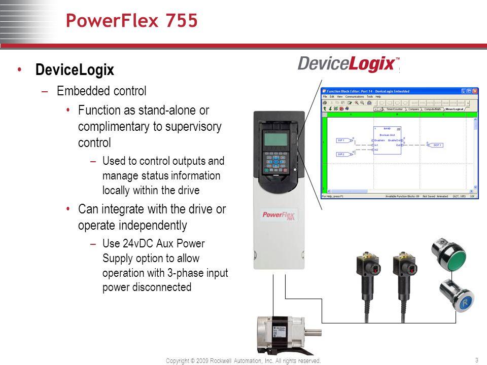 PowerFlex 755 DeviceLogix - ppt video online download