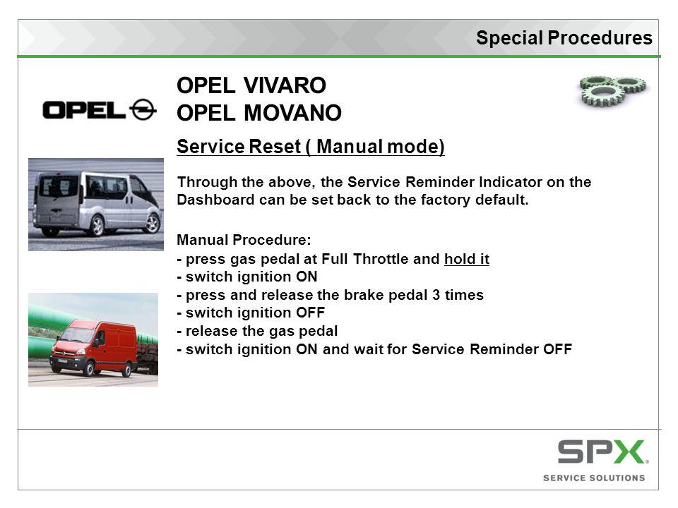 opel movano repair manual