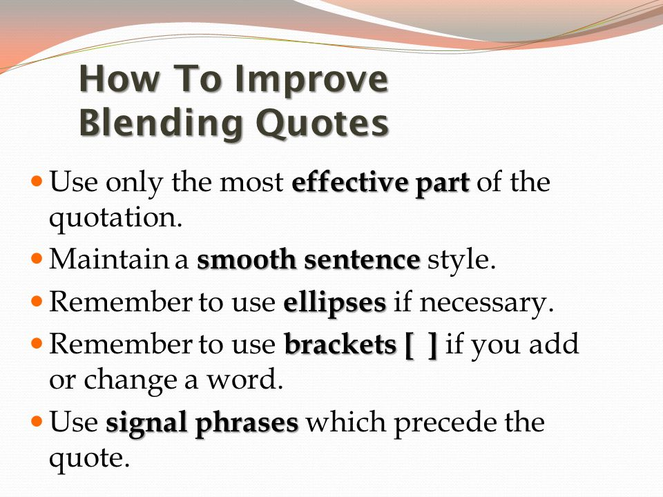 Blending Quotations Western Literature February 6 Ppt Video Online