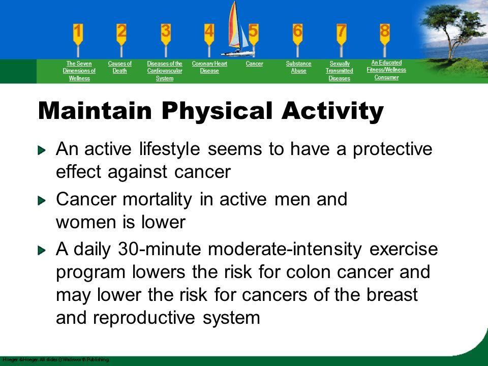 73 Maintain Physical Activity