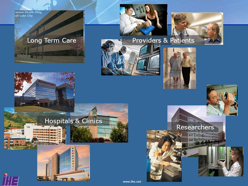 Long Term Care Providers & Patients Hospitals & Clinics Researchers