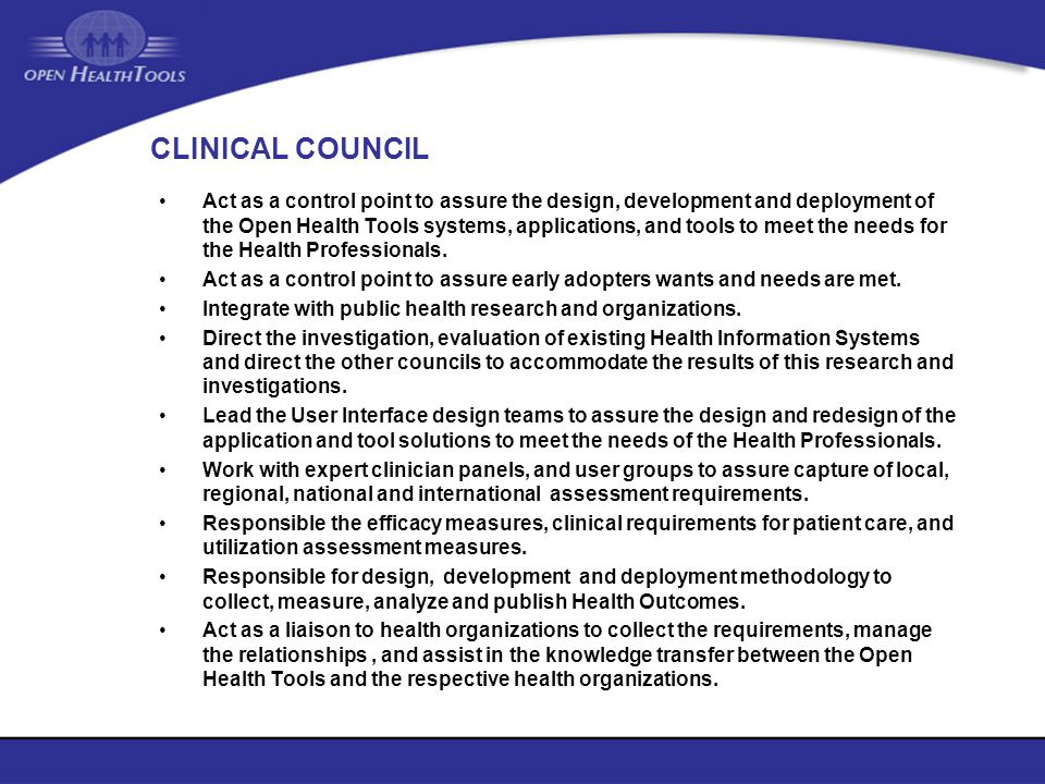 CLINICAL COUNCIL