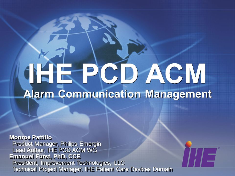 Alarm Communication Management