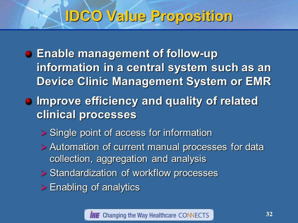 IDCO Value Proposition