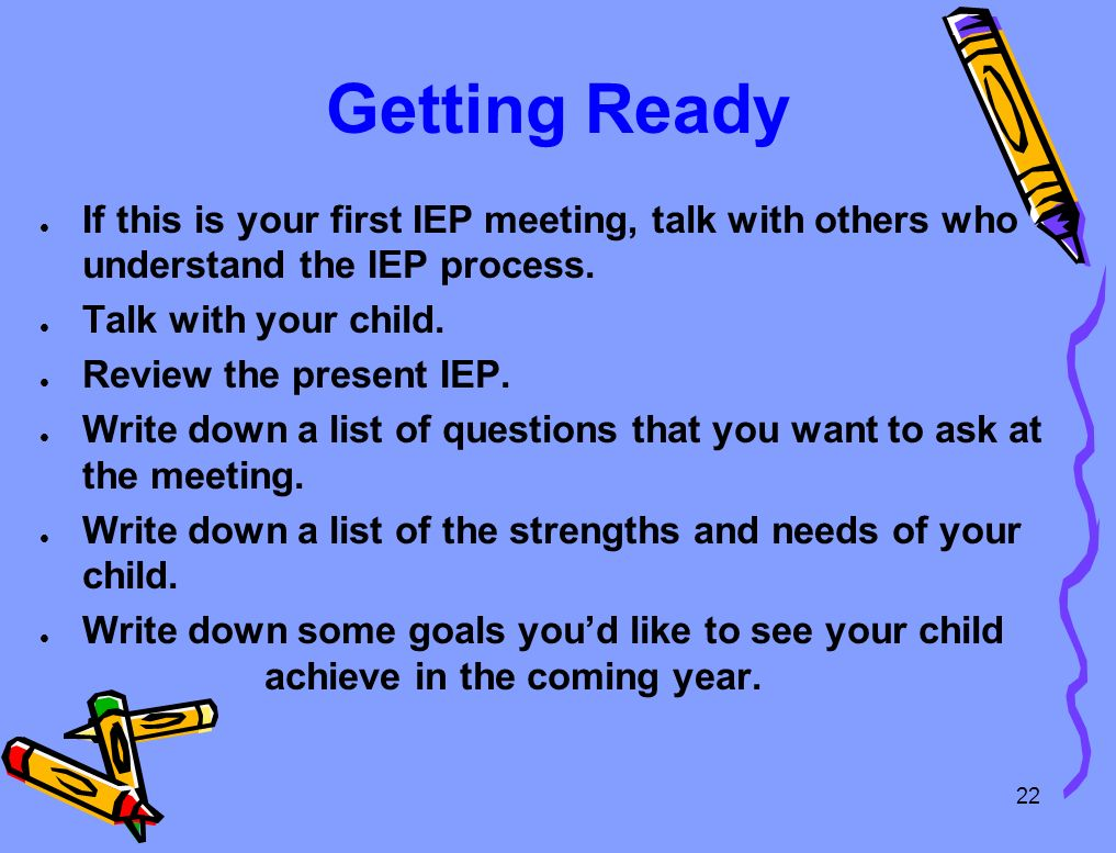 Are You Ready For Your Iep Meeting >> The Iep Process Product Part I The Iep Team Writes An Iep Ppt