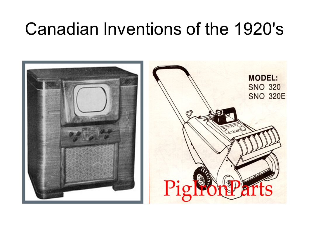 inventions of the 1920s
