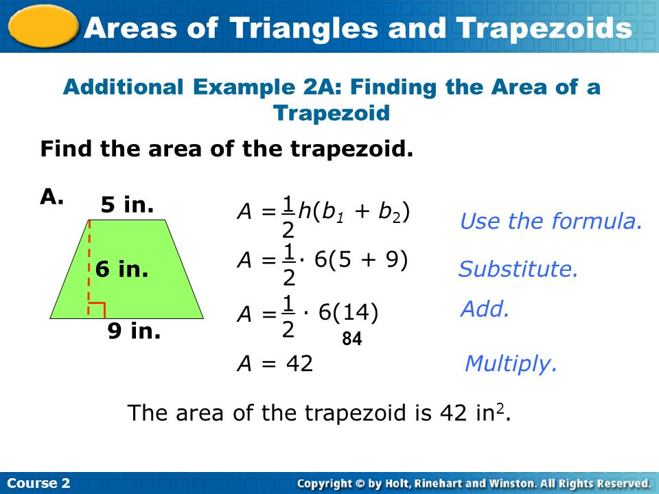 6-2 homework and practice perimeter and area of triangles and trapezoids